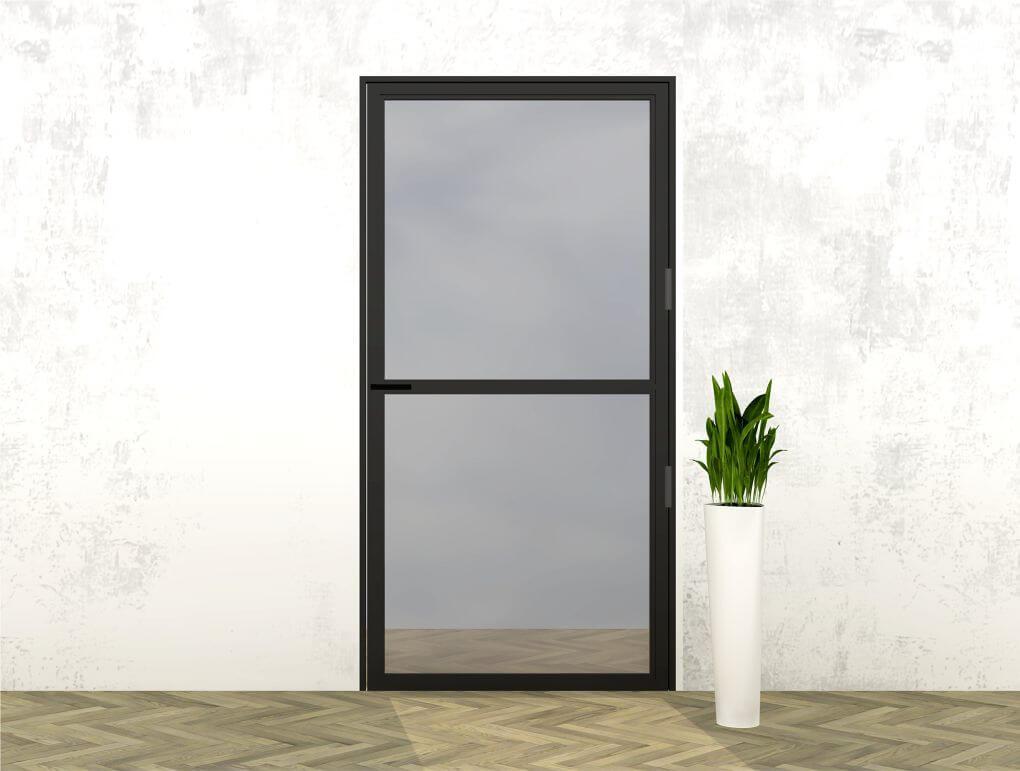 Stalen deur 2