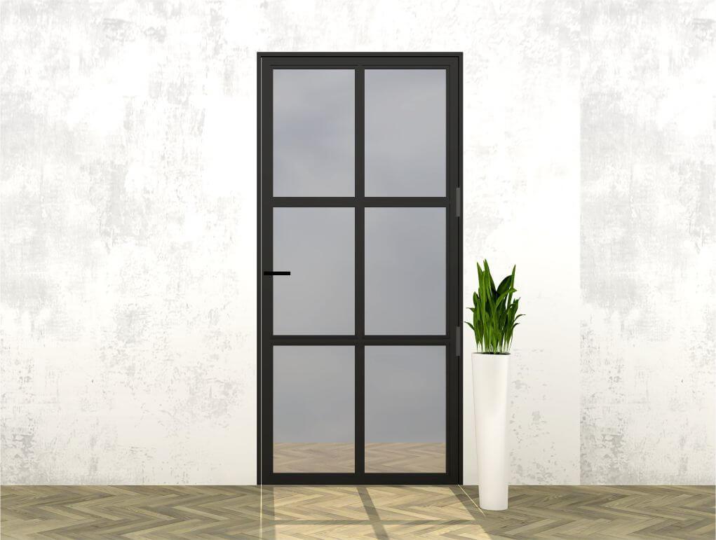 Stalen deur _ wigwam