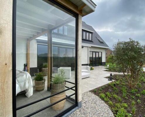 Stalen pui - veranda - Barneveld